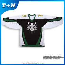 OEM factory cheap online shopping latest team set embroidered hockey jersey