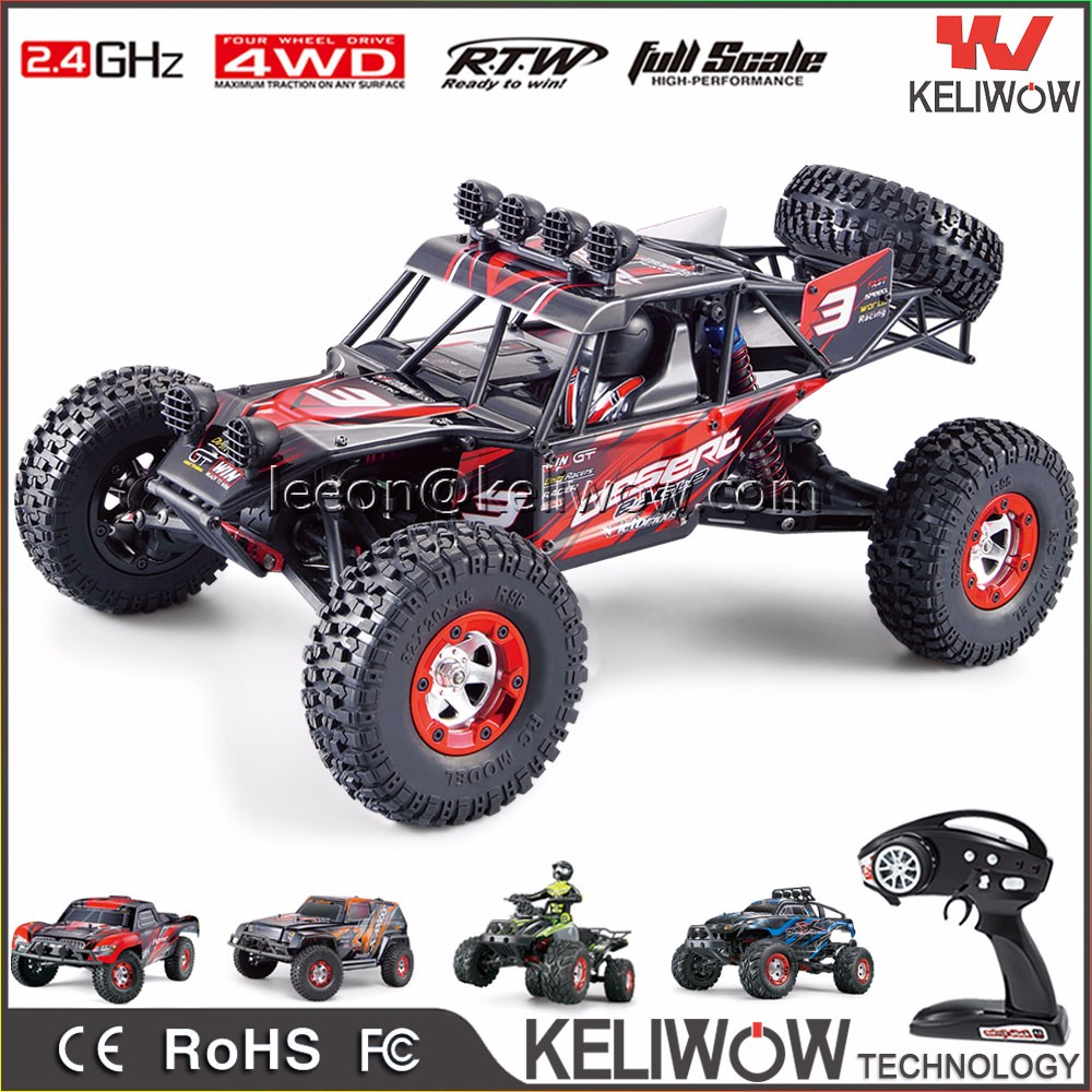 Feiyue 1/10 RC rock crawler high speed 2.4G electric 4WD off-road RC racing car