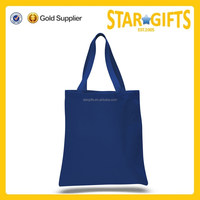 Custom Made Supermarket Grocery Use 10oz Cotton Canvas Tote Bag For Promotion