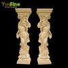 Wedding Decoration Lady Statue Roman Pillars for Sale