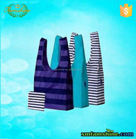 nylon reusable fold shopping bag