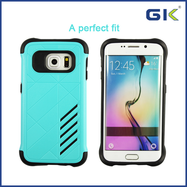 [GGIT] China Spplier New Design TPU+PC Material Cell Phone Case for Samsung Galaxy S6 Cover Case