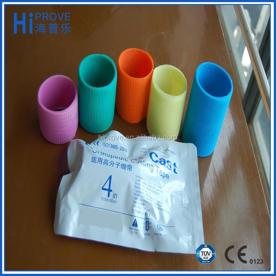 Multi Color Orthopedic Fiberglass Casting Tapes