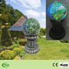 Solar Mosaic Glass Gazing Ball With