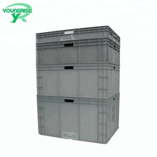 EU 800*600 hard large storage containers plastic moving boxes wholesale