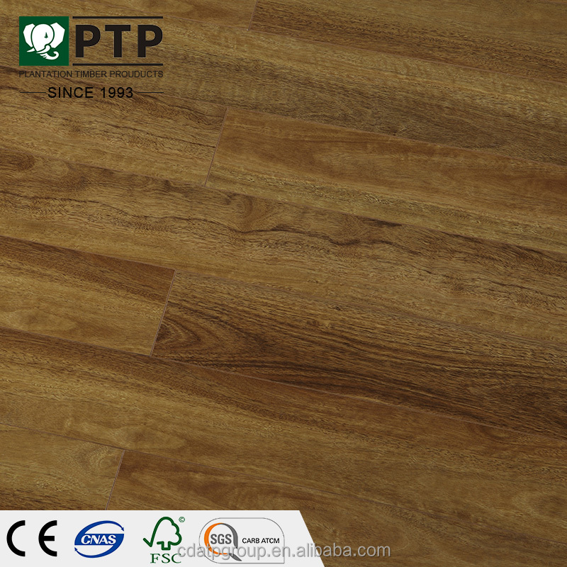 PTP 168 New Pisos de madera laminado 12mm 12.3mm ac5 waterproof fire resistant laminate flooring