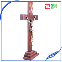 holy spirit wooden standing cross