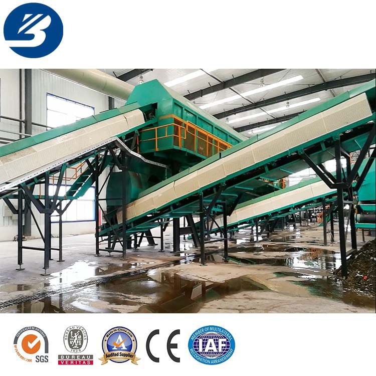 2018 Newest Domestic Waste Recycling Machinery Garbage Sorting Equipment