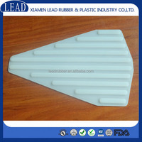 Translucent peroxide cured UV inhabitor silicone pad