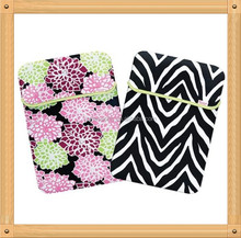 Flowery Neoprene sleeve case for ipad