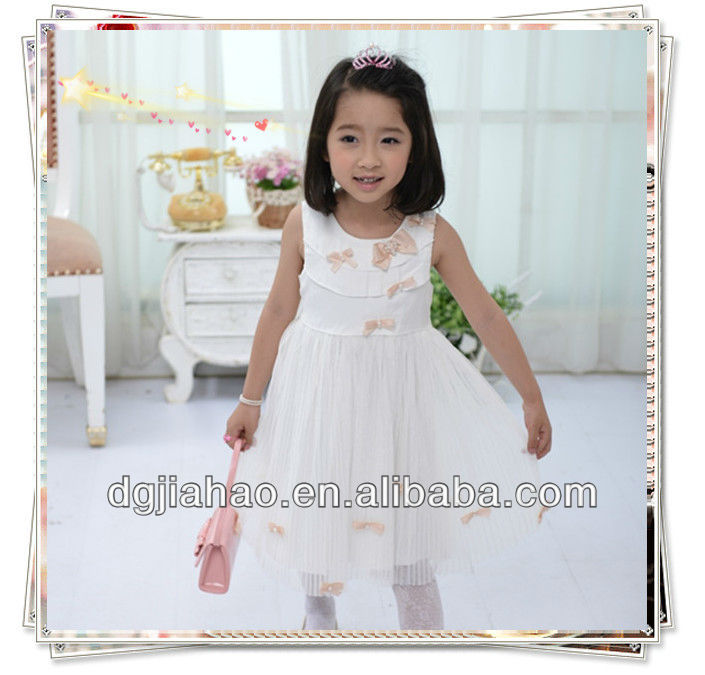 celebration for children of 10 years party ribbon embroidery on dresses