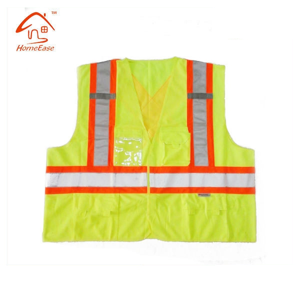 2017 New High Visibility Warning Security Working Custom Safety Vests