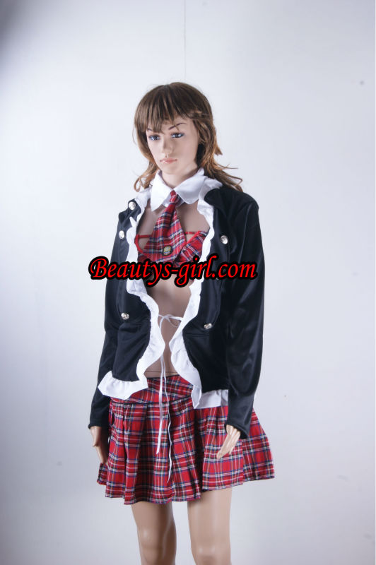 Berry Girls Dress ,Wholesales Costume,Offer You Best Service Pink Sexy Maid Costume