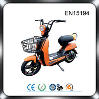 Cheap 350w brushless motor mini electric scooter 2 seat electric bike