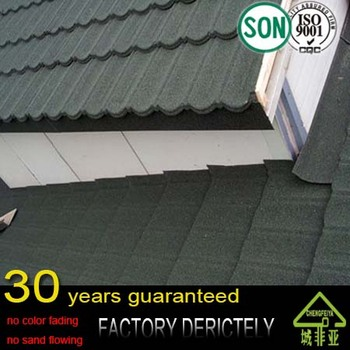 Africa stone coated metal tile roofing