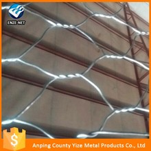 high quality anping galvanize hexagonal mesh grid mesh
