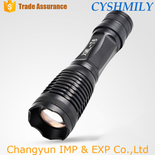 Aluminum xm-l t6 rechargeable battery torch tactical led night light