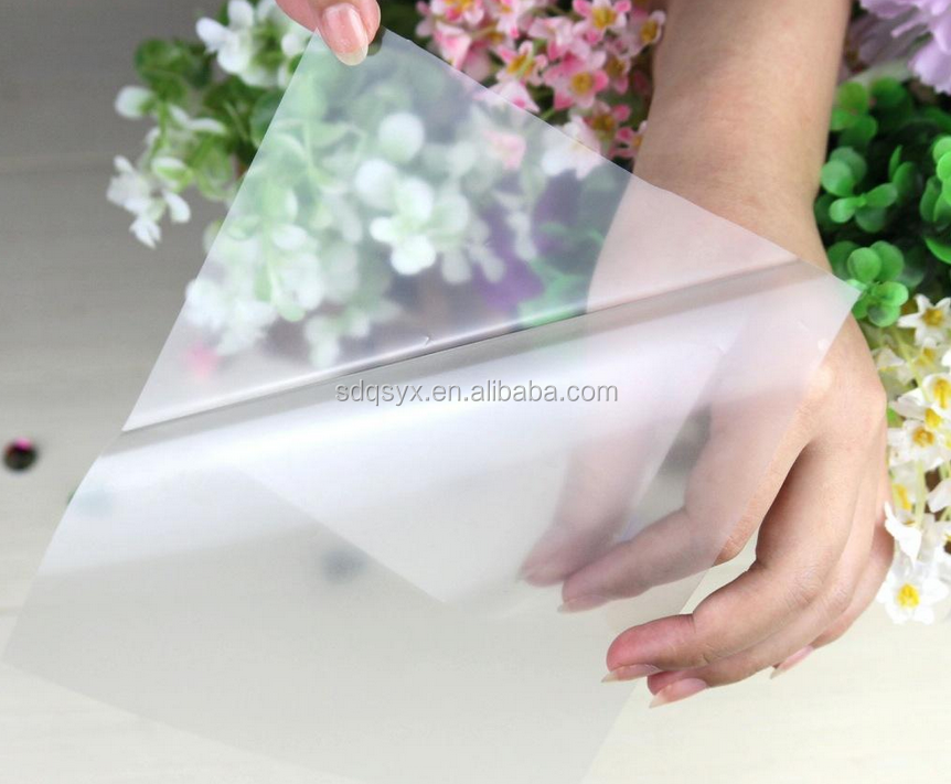 Vivid crystal film 3D film BOPP film for cold and hot photo laminating