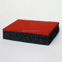 Recycled Waste Tire Rubber Flooring FN-E-15121521