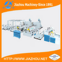 Tandem Dual Extruder Coating BOPP Film Woven Sack PP Lamination Machine