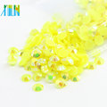 Wholesale Flat Back Resin Beads Rhinestones 3D Decoration Nail Art Charm, D-A038-Jelly Citrine AB