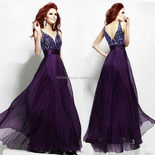 deep neck rhinestone junoesque evening dress 2015