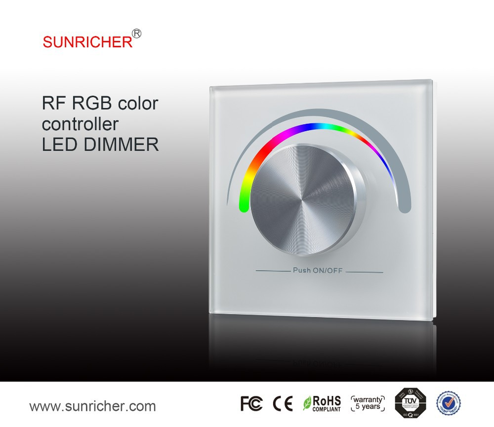 RF RGB color controller remote control led driver for panel light downlight