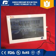 lcd wall mounted advertising small digital player portable dvd player with digital tv tuner