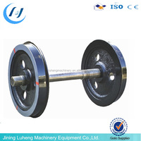 Stainless Steel railway wheel set for mine car with good quality