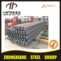 different standard Crane steel Rail crane power rail used for all kinds of crane