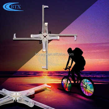Customized OEM programmable bicycle LED bike wheel spoke light