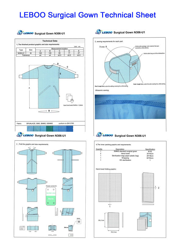 SMMS standard surgical gown