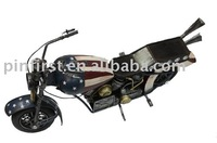 Antique-Vintage-Fine-Art- Classic-Iron-Motorbike Model