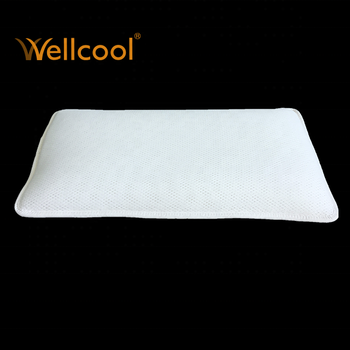 wellcool adjustable 3d spacer mesh flat baby head pillow