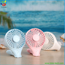 Summer Portable 2 in 1 Handheld Table Standing Fan USB Rechargeable with KC Battery