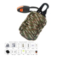 Gear Multi Tools Outdoor First Aid Survival Kit for Hiking Fishing