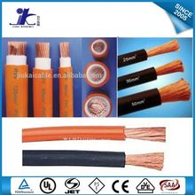 Awg 4/0 3/0 2/0 1/0 Electric Flexible Stranded Pvc Insulated Welding Cable