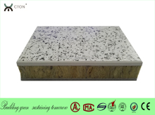 Rock wool board for external thermal insulation composite systerm