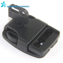 25mm plastic slip lock buckle key buckle