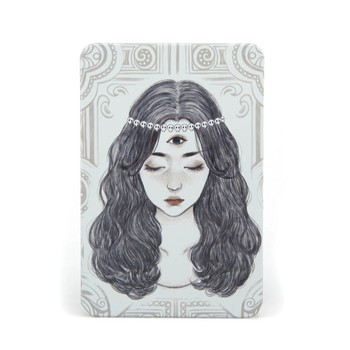 YiWu high quality Notizbucher young lady design metal cover spiral notebook metal cover notebook
