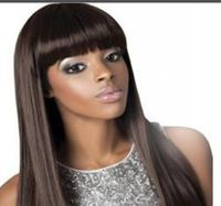 short synthetic party wig