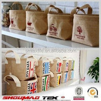 useful mini fancy rice store jute gunny bags