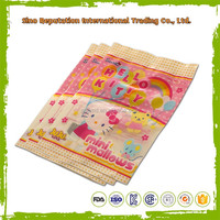 Alibaba China OPP clear self adhesive plastic bag the size & logo can be customized