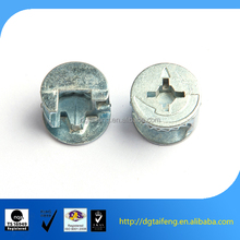 Special shape phillips head aluminium fixing screws