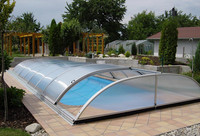 XINHAI swimming pool enclosure polycarbonate roofing covering materials price