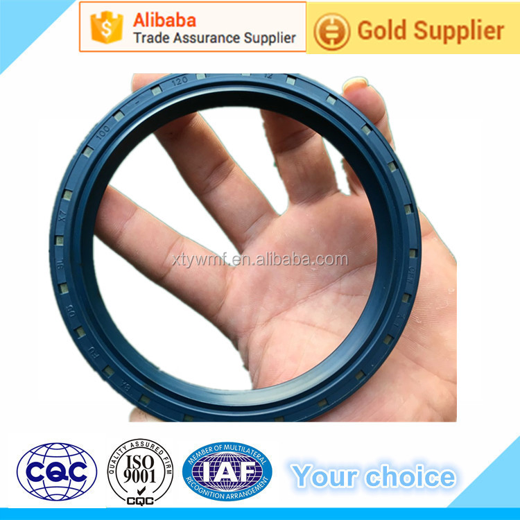 cfw rubber oil seal for machine 100-120-12