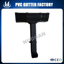 made in China pvc gutter rainwater down pipe