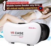 Joinwe Hot Selling Factory Wholesale Price Vr Case Virtual Reality Glasses 3d Mobile Phone Open Blue Film Sex Video