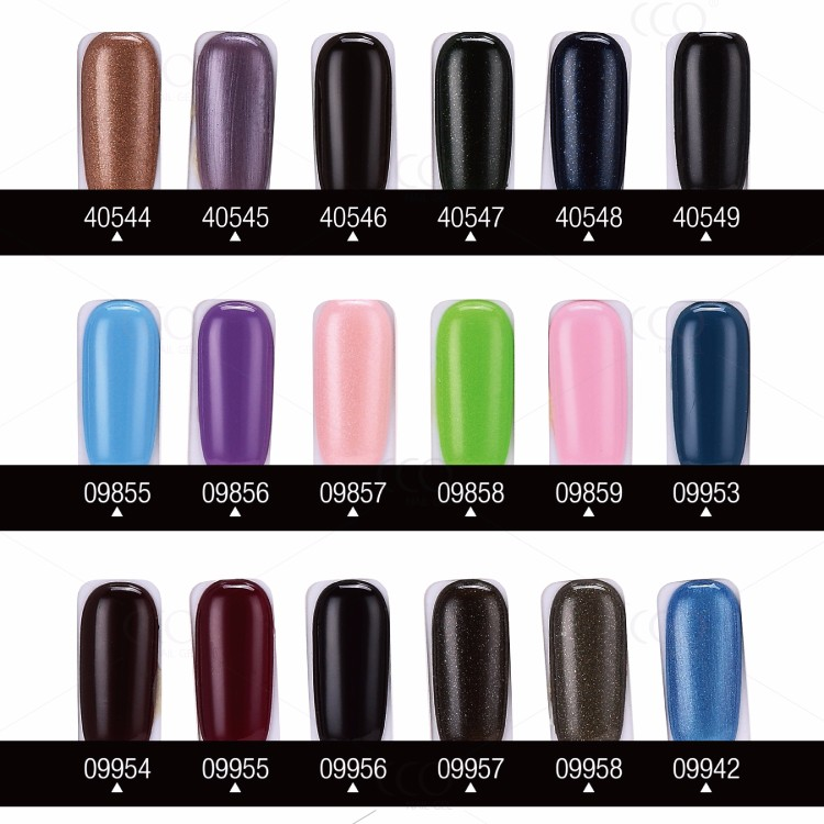 CCO IMPRESS Gel Nail 183 Colours Soak Off UV/ LED nail polish
