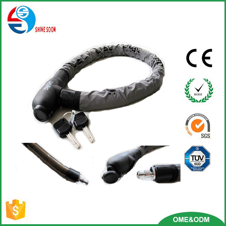 heavy duty bicycle cable lock chain lock for doors, bicycles, motorbikes